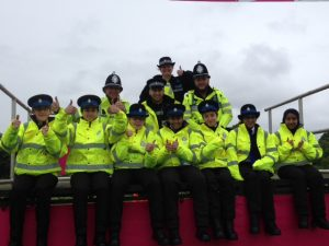 Peterborough Cadets supporting Race for Life