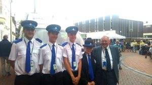 SGB and Cadets in Ely